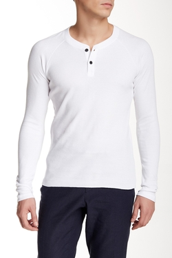 Billy Reid  - Thermal Henley Shirt