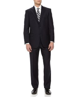 Hickey Freeman  - Two-Piece Wool Suit