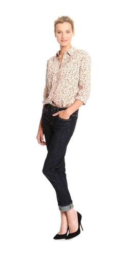 Joe Fresh - Print Tuxedo Shirt