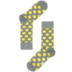 Happy Socks - Big Dot Combed Cotton Socks