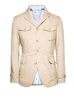 Mango - LINEN COTTON-BLEND FIELD JACKET