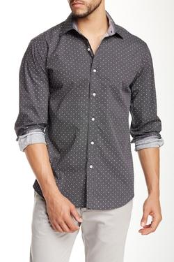 Bristol & Bull  - Dot Print Long Sleeve Shirt