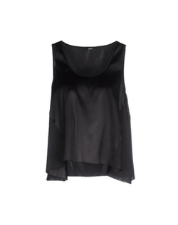Carla G. - Sleeveless Satin Top