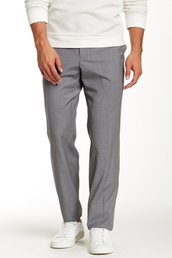 Todd Snyder - Flat Front Stripe Wool Trousers