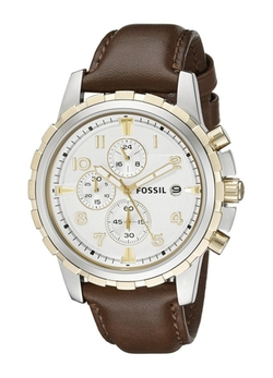 Fossil - Dean Chronograph Leather Watch