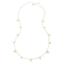 Liz Claiborne - Gold-Tone Station Long Necklace