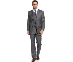 Lauren Ralph Lauren -  Charcoal Vested Suit