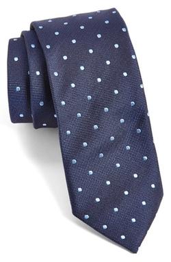 Boss - Polka Dot Silk Tie