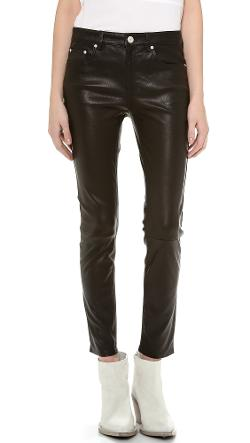 Acne Studios  - Skin 5 Pocket Leather Pants