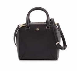 Tory Burch  - Robinson Pebbled Mini Satchel Bag
