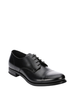 Prada - Leather Cap Toe Oxfords Shoes