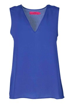 Boohoo - Anna Deep V Neck Sleeveless Tank Top