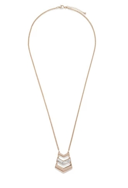 Forever 21 - Chevron Pendant Necklace