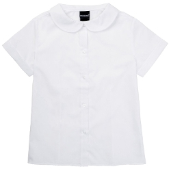 U.S. Polo Assn. - Short Sleeve Peter Pan Collar Shirt