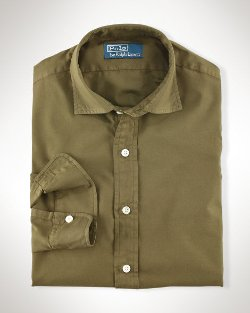 Ralph Lauren - Cotton-Linen Sport Shirt