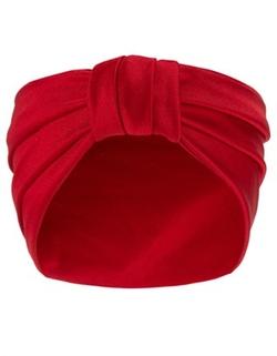 Jennifer Behr - Cherry Silk Jersey Bandeaux Headband