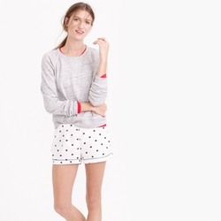 J.Crew - Bow Flannel Pajama Shorts