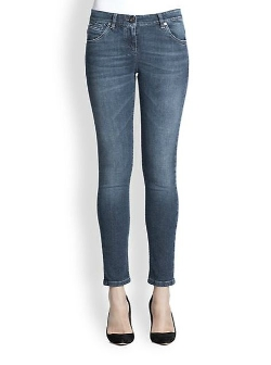 Brunello Cucinelli  - Five-Pocket Jeans