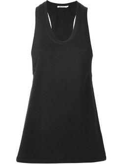 T By Alexander Wang   - Racerback Tank Top