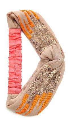 Namrata Joshipura  - Sequin Turban Headband