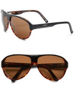 Carrera  - Oversized Plastic Aviator Sunglasses