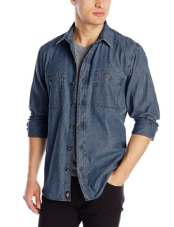 Dickies - Long-Sleeve Chambray Shirt