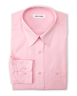Pierre Cardin - Cherry Pink Solid Dress Shirt