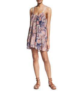 Suboo Kasbah  - Paisley-Print Dress
