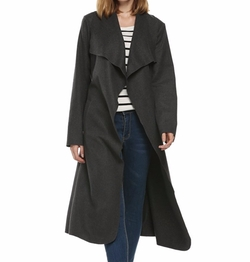 Bluetime - Collar Lapel Wool Coat