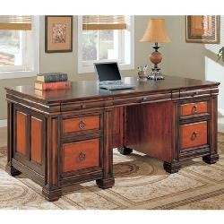 MBW - Two Tone Executive Office Desk Table