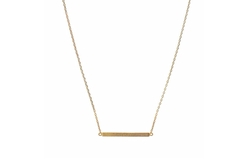 ChelseachicNYC  - Abstract Bar Necklace