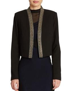 Calvin Klein  - Embellished Cropped Jacket