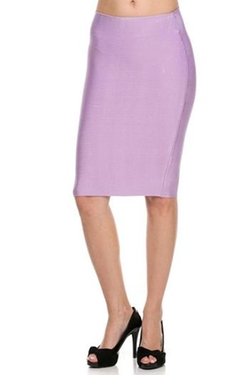 Glam Squad Shop - Lavender Bandage Skirt