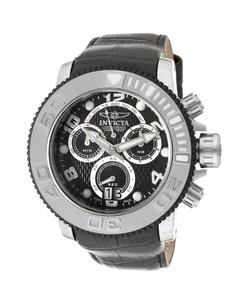 Invicta - Sea Hunter Chrono Leather Watch