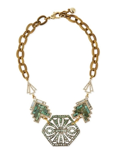 Lulu Frost  - Ortiga Mosaic Statement Necklace