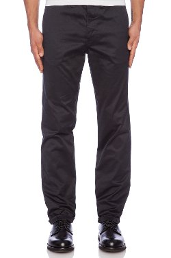 Aros Heavy Chino - Side Slant Pockets Pants