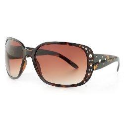 Unionbay Rhinestone - Oversized Sunglasses
