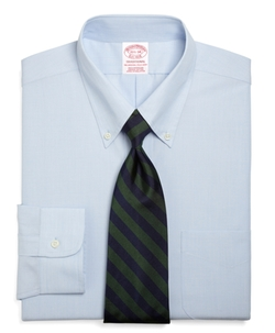 Brooks Brothers - Traditional Fit Button-Down Collar Dress Shirt