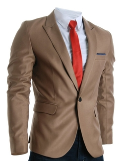 Flatseven  - Designer Slim Fit Stylish Peaked Lapel Blazer