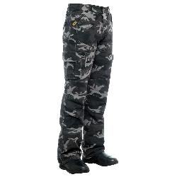 BILT IRON WORKERS  - Camo Cargo Motorcycle Pants - 32, Gray