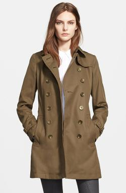 Burberry Brit - Crombrook Cotton Trench Coat