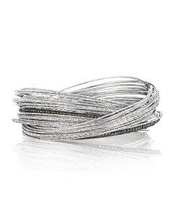 Coomi  - Spring Sterling Silver Bracelet