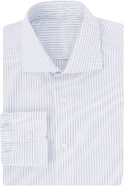 Uman - Shadow-Stripe Dress Shirt