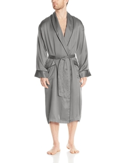 Geoffrey Beene - Silk Shawl Collar Robe