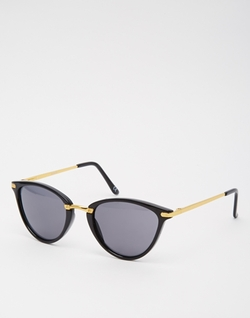 Asos Collection - Oval Cat Eye Sunglasses