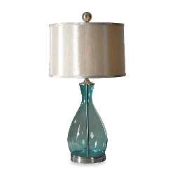 Uttermost  - Meena Blue Glass Table Lamp