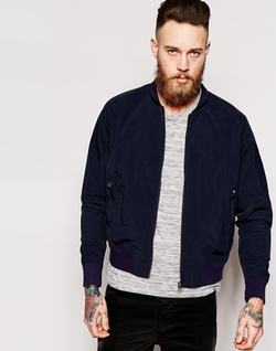 Blue Collar Worker  - Bomber Jacket