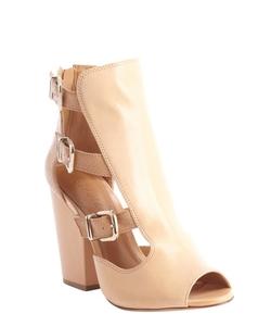 Schutz - Heel Peep Toe Sandals