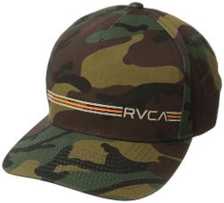 RVCA - Crusher Twill Snapback Camo Hat