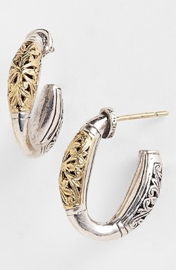 Konstantino - Two-Tone Hoop Earrings